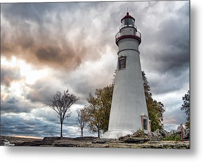 Marblehead Lighthouse Metal Print by Mary Timman