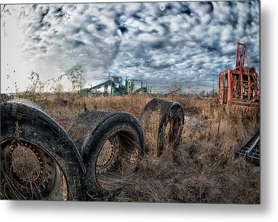 March Of The Wide Walls Metal Print