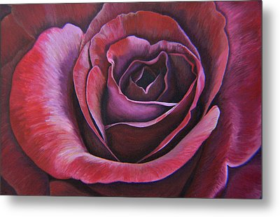 March Rose Metal Print by Thu Nguyen