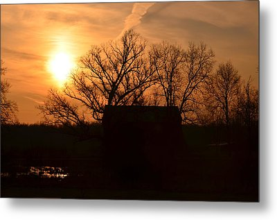 March Sunrise4 Metal Print by Jennifer  King
