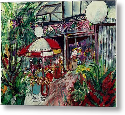 Marche Journee Metal Print by Elaine Elliott