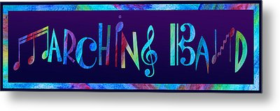 Marching Band Metal Print by Jenny Armitage