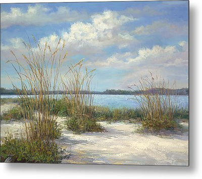 Marco Island Metal Print by Laurie Hein