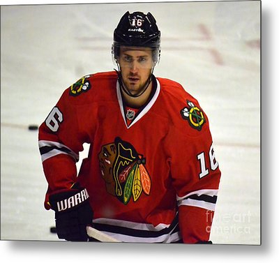 Metal Print featuring the photograph Marcus Kruger by Melissa Goodrich