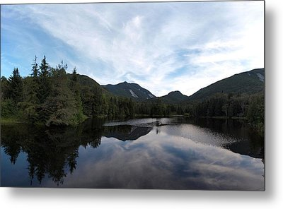 Marcy Dam Pond Metal Print by Joshua House