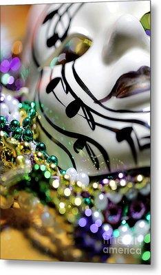 Mardi Gras I Metal Print by Trish Mistric