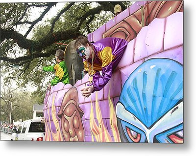Mardigras In Louisiana Metal Print