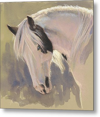 Mare With A Halo Metal Print