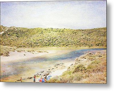 Margaret Rivermouth In Western Australia Metal Print by Elaine Teague