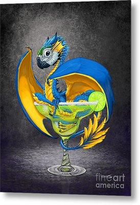 Margarita Dragon Metal Print