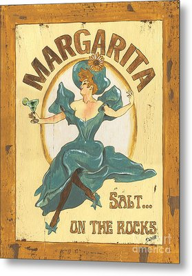 Margarita Salt On The Rocks Metal Print