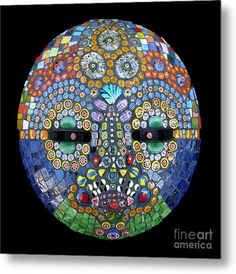Marge Metal Print by Valerie Fuqua