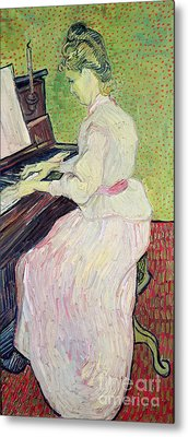 Marguerite Gachet At The Piano Metal Print