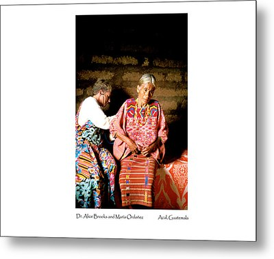 Metal Print featuring the photograph Maria Ordonez by Tina Manley