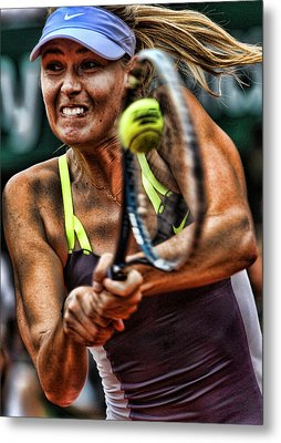 Maria Sharapova Metal Print by Srdjan Petrovic
