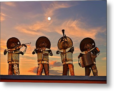 Metal Print featuring the photograph Mariachi Band by Christine Till