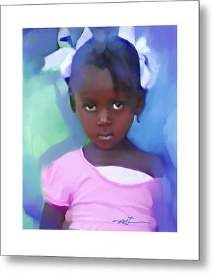 Metal Print featuring the painting Marie by Bob Salo