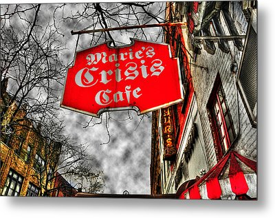 Marie's Crisis Cafe Metal Print by Randy Aveille