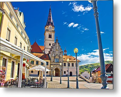 Marija Bistrica Marianic Sanctuary In Croatia Metal Print by Brch Photography