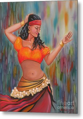 Marika The Gypsy Dancer Metal Print