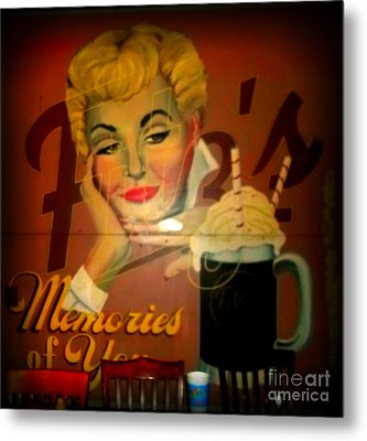 Marilyn And Fitz's Metal Print by Kelly Awad