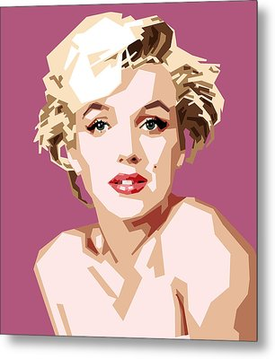 Marilyn Metal Print by Douglas Simonson