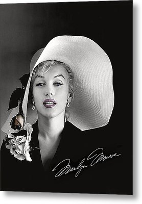 Marilyn Metal Print by Gary Baird