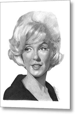 Marilyn Monroe - 015 Metal Print