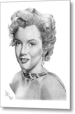 Marilyn Monroe - 016 Metal Print