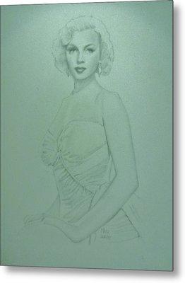 Marilyn Monroe 2 Metal Print