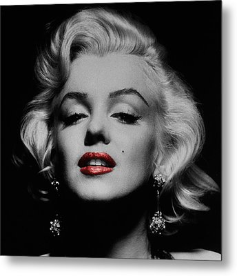 Marilyn Monroe 3 Metal Print by Andrew Fare