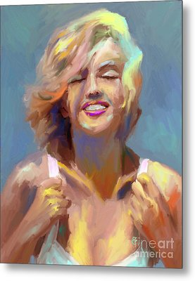 Marilyn Monroe Metal Print by GCannon