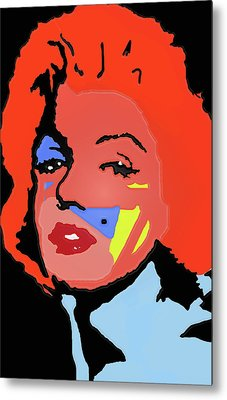 Marilyn Monroe In Color Metal Print