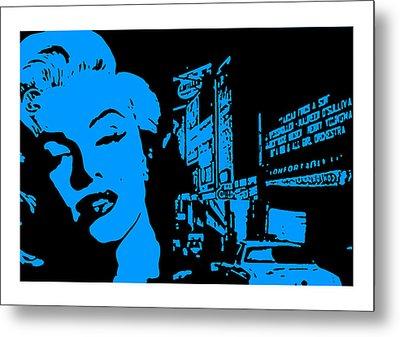 Marilyn Monroe Metal Print by Neil Kinsey Fagan