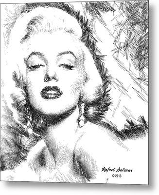 Marilyn Monroe - The One And Only  Metal Print