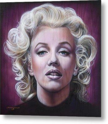 Marilyn Monroe Metal Print by Timothy Scoggins
