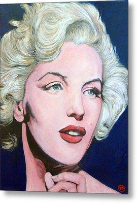 Marilyn Monroe Metal Print by Tom Roderick