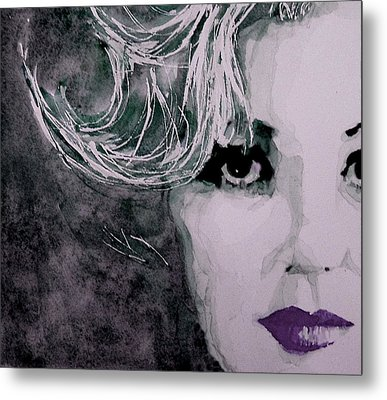 Marilyn No9 Metal Print by Paul Lovering