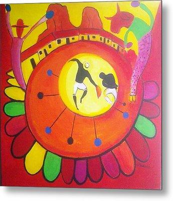 Marimbona Metal Print by Jose jackson Guadamuz guadamuz