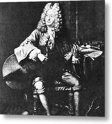 Marin Marais (1656-1728) Metal Print by Granger