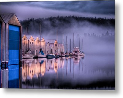 Marina Morning Metal Print by Ruppenthal