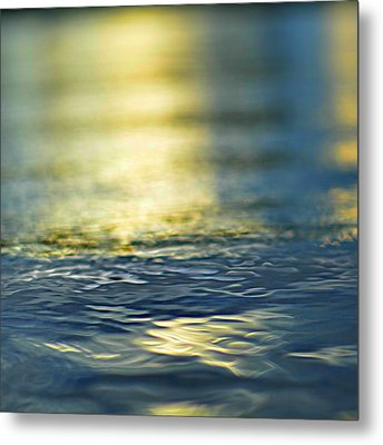 Marine Blues Metal Print by Laura Fasulo
