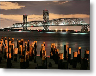 Marine Parkway Bridge Metal Print by JC Findley