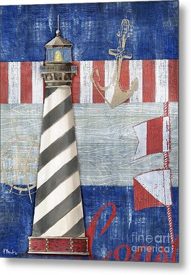 Maritime Lighthouse II Metal Print