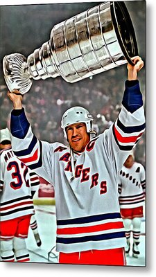 Mark Messier Metal Print