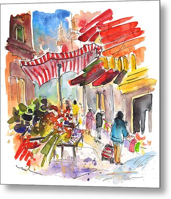 Market In Palermo 04 Metal Print