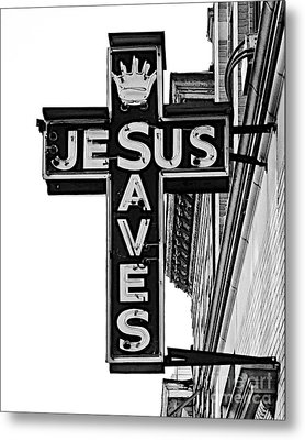 Market Street Mission Metal Print by Mark Miller