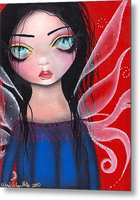 Marla Metal Print by  Abril Andrade Griffith