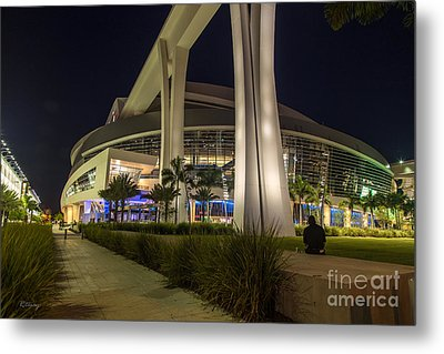 Marlins Park Stadium Miami 3 Metal Print by Rene Triay Photography