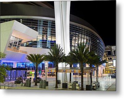Marlins Park Stadium Miami 5 Metal Print by Rene Triay Photography